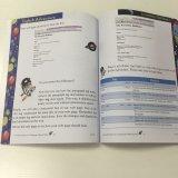 Manuel d'école, impression de livre d'éducation, grippement parfait, livre de caisse mou de livre broché