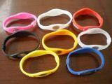 Qualität Plastic Promotional 3D Silicon Gift Slap Bracelet (SB-003)