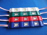 SMD 5730 Licht van de Injectie van de Module het Waterdichte Rode Blauwe 3LED