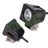 トラックSUVのための道LED作業ライトを離れた10W 2inch