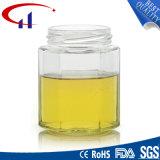стеклянная тара меда формы восьмиугольника 170ml (CHJ8021)