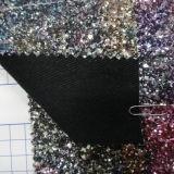 tissu volumineux du scintillement 3D pour Carfts, papiers peints, sacs, chaussures, Uphosltery
