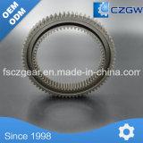 High Precision personalizada engranaje de transmisión del anillo del engranaje para distintos dispositivos