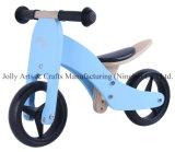 """7 """" 1つの青に付き木のバランスのバイク2つ"""