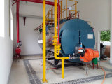 Caldeira de vapor despedida gás do petróleo da eficiência (WNS 0.5-20 T/H)
