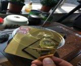 specchio giallo di cristallo giallo dorato luminoso giallo dorato di 4mm per la decorazione