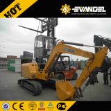 8 hydraulische Gleisketten-Miniexkavator des Tonnen-Exkavator-XCMG XE80 für Verkauf