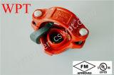Kneedbare Iron Grooved Mechanical Joint Tee met FM UL