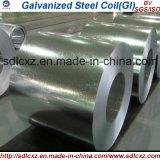 O material de construção Z85 mergulhado quente galvanizou a bobina de aço