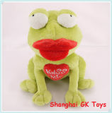 De gift van de Nieuwigheid van het Stuk speelgoed van het Speelgoed van de Valentijnskaart van de Prins van de Kikker Nieuwe