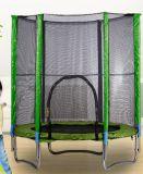 トランポリンの安全策および梯子が付いている屋内適性の練習装置の体操のトランポリン