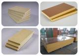 panneau rigide solide de mousse de PVC Celuka de la densité 0.5g/cm3 WPC de 9-12mm pour la fabrication portative de toilette