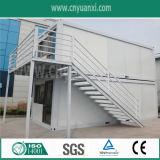 Dois Stories Prefab Container House para o prédio de escritórios com escadarias