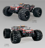 新しい1/10台の4WDリモート・コントロールオフロードモンスタートラックW/ESC R/Cの気違いのトラック