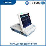 Monitor fetal Toco de la sola pulgada Twins12.1/marca fetal del transductor ultrasónico para la supervisión fetal del ritmo cardíaco de las mujeres embarazadas de Ce ISO Ysd18b aprobado