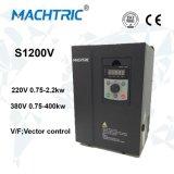 Regulador de la velocidad del motor de CA del control de vector de bucle cerrado S1200V