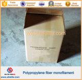 Forma del acoplamiento de la fibra de los PP para el concreto y el mortero