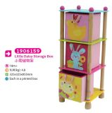 Kids를 위한 아이들 Furniture Wooden Toy Storage Shelf Storage Box
