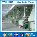Обрабатывая и филируя машина завода неочищенных рисов