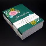 Livre d'exercice pour le livre d'exercice dur personnalisé par cadeau de couverture d'école