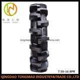 Rizière de la configuration 7.50-16 de la Chine R1 R2/chambre à air/pneu d'entraîneur
