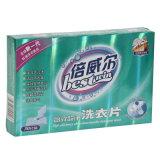 Papel respetuoso del medio ambiente que bombea la hoja detergente para el lavadero conveniente