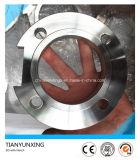 Bride d'acier inoxydable de Dn80 Pn16 Sorf avec l'encoche