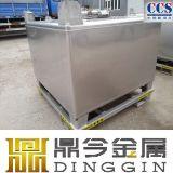 Ss304 1000 Liter-Quadrat-Edelstahl-Behälter-Becken