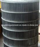Flexmaschendraht-Förderband des Edelstahl-304 flaches