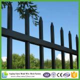 2.1*2.4m Puder-überzogenes dekoratives Stahleisen-Stahlröhrenzaun für Garten
