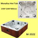 Monalisa Balboa 시스템 Jacuzzi 온수 욕조 (M-3322)