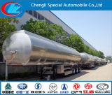 3 Radachsen-Aluminiumlegierung-Kraftstofftank-halb Schlussteil, 42000 des Kraftstofftank-Liter Schlussteil-, Aluminiumlegierung-Kraftstoff-Tanker-halb Schlussteil