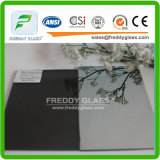 4-8 milímetro do vidro de vidro reflexivo F-Verde do edifício do vidro/Relective