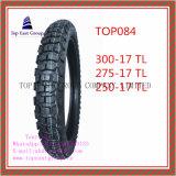 Größe 300-17tl, 275-17tl, 250-17tl Superqualität, schlauchloser Motorrad-Gummireifen des Nylon-6pr
