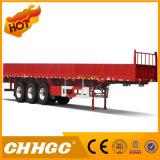 Acoplado confirmado ISO de la pared lateral semi para el transporte a granel