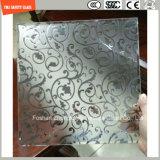 печать Silkscreen 3-19mm/кисловочный Etch/заморозили/квартира картины/согнули Tempered/Toughened стекло для двери/окна/ливня /Screen с сертификатом SGCC/Ce&CCC&ISO