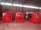 4-40 linha de produção concreta Semi automática da máquina do tijolo/bloco