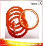24V円形の電気温湿布のシリコーンのヒーター
