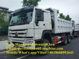 Dumper de tombereau de camion à benne basculante de roue de Sinotruk HOWO 10, 371HP, Rhd/LHD avec un dormeur