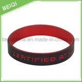 Оптовое Debossed с Wristbands силикона цвета изготовленный на заказ