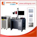 Marcação do laser do carregador móvel e máquina UV do gravador
