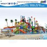 大人および子供(HD-6002)のための水公園のゲーム水スライド