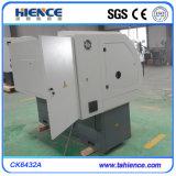 Especificação horizontal da máquina-instrumento do torno do corte do metal do CNC