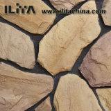 Pedra arquivada molde do material de construção da telha da parede, ardósia artificial (YLD-73006)