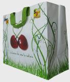 Выдвиженческий Non сплетенный мешок с логосом/Non-Woven хозяйственной сумкой/дешево изготовленный на заказ Nonwoven мешком