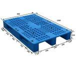 Pallet van Palletplastic van de Plicht van de Logistiek van de lage Prijs de Middelgrote