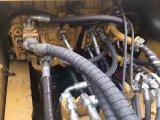 De gebruikte Japanse Rupsband 349d 2012 van het Graafwerktuig
