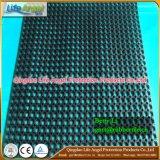 Estera de goma del caucho del negro del verde del espesor de la estera 15m m de la fatiga anti de goma de los productos