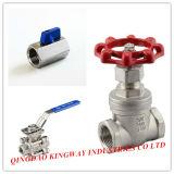 Mini válvula de esfera pneumática (BTM-1R, F/F)