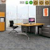 Le bureau exécutif de forme en bambou moderne du type 1.8m L& U de système de bureau de meubles de bureau avec la forêt de FSC certifiée a reconnu par GV (H60-0105)